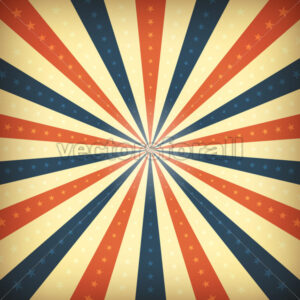 vintage-american-background-with-sunbeams.eps - Vectorsforall