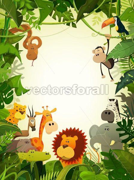 Wildlife Animals Wallpaper - Vectorsforall