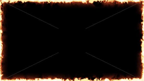 4k Fire Frame Background Clip - Vectorsforall