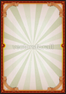 Vintage Blank Circus Poster Sign - Vectorsforall