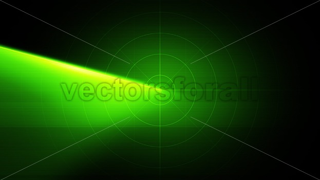 Radar And Sonar Scanner Technology Background Loop - Vectorsforall