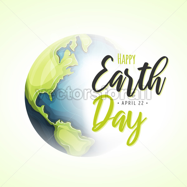 World Earth Day Background - Vectorsforall