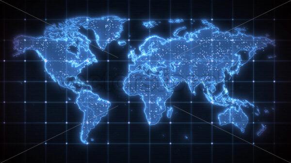 World Map Global Virus Epidemic Background - Vectorsforall