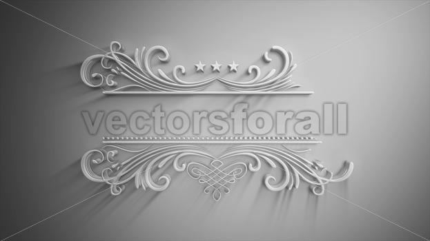 White Soft Banner Background Reveal Animation - Vectorsforall