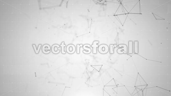 Abstract Digital Data Technology Background Loop - Vectorsforall