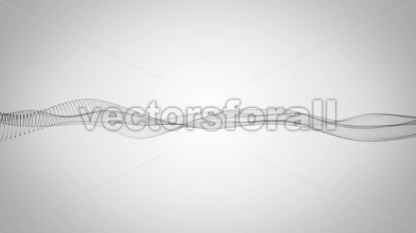 Abstract Network Mesh Waving Fx Background Loop - Vectorsforall