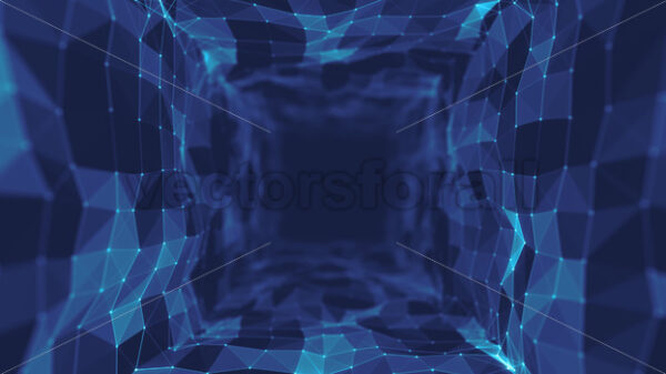 Abstract Plexus Geometrical Background Loop - Vectorsforall