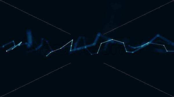 Abstract Plexus Geometrical Background Loop - Vectorsforall
