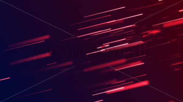 Abstract Technology Background With Glowing Lines Loop - Vectorsforall