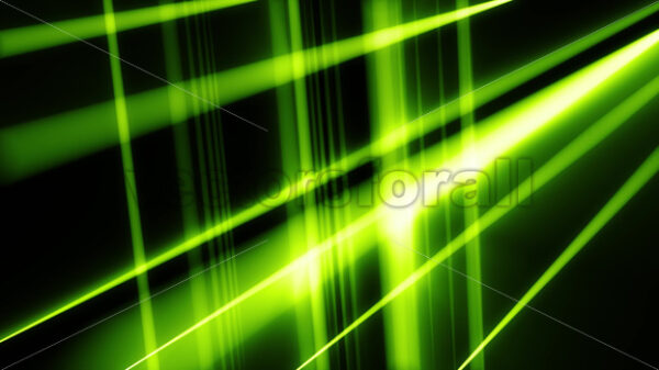 Abstract Technology Background With Laser Light Rays Looping - Vectorsforall