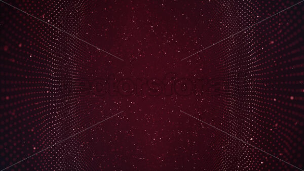 Abstract Technology Waving Field Fx With Lens Background Loop - Vectorsforall