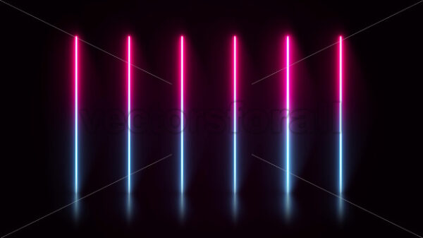 Arrows Technology Neon Design Background Loop - Vectorsforall