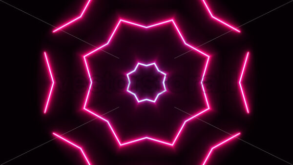 Neon Vj Loop Design Background Animation - Vectorsforall