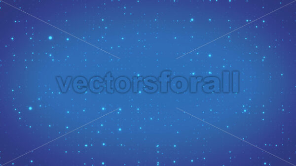 Abstract Data Computer Particles Background Loop - Vectorsforall