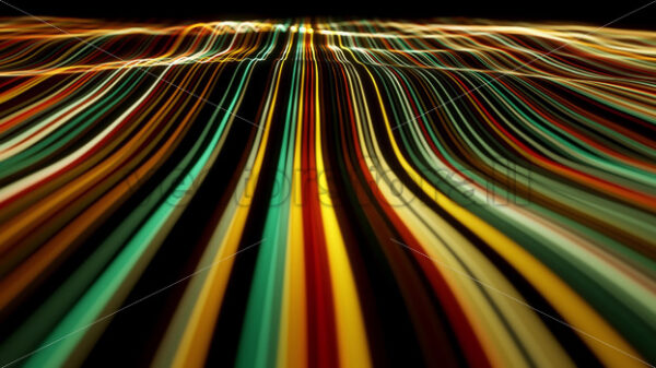 Abstract Flowing Particle Lines Data Concept Background Loop - Vectorsforall