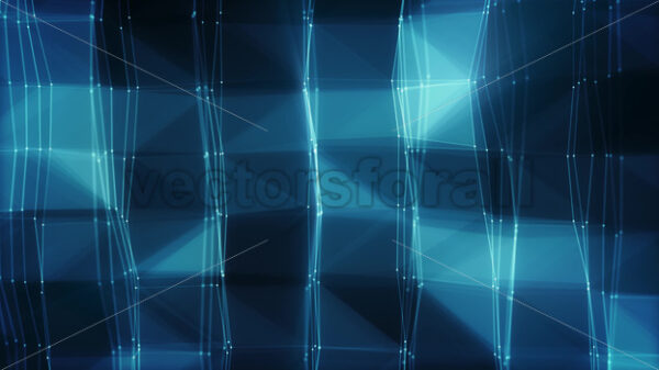 Abstract Hi-Tech Plexus Facets And Tiles Seamless Loop - Vectorsforall