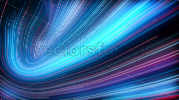 Abstract Light Strings Patterns Flowing Background Loop - Vectorsforall