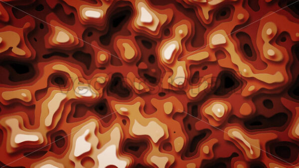 Abstract Topography Map Patterns With Depth Seamless Looping - Vectorsforall