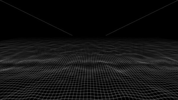 Abstract Waving Lines Fx Minimal Background Loop - Vectorsforall