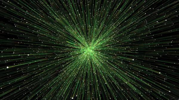 Starburst Particles Fx Background Loop - Vectorsforall