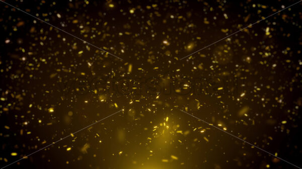 Abstract Glowing Gold Glitter Sparkling Particles Background - Vectorsforall