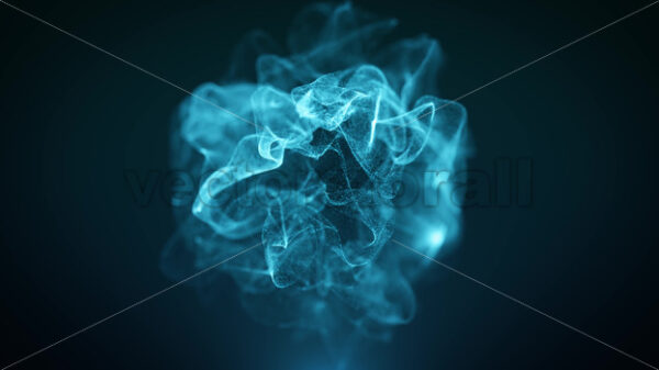 Abstract Particles Light Cloud Background Loop - Vectorsforall