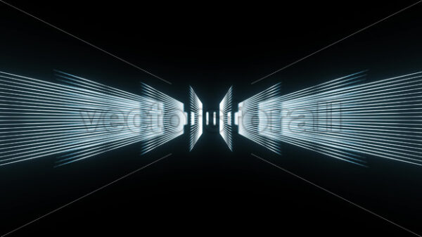Technology Background With Digital Lines Seamless Looping - Vectorsforall