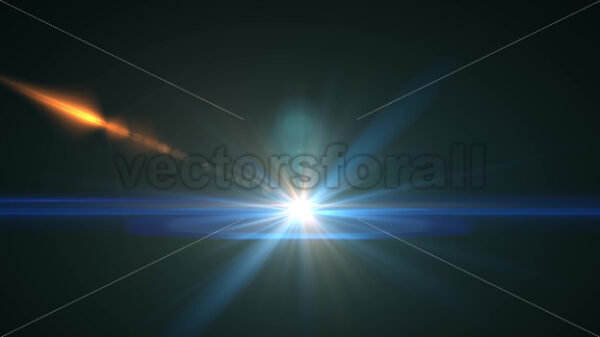 Optical Light Lens Flare Background Fade In And Out - Vectorsforall