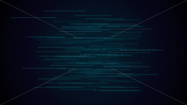 Abstract Background With Lines Strings Flowing Seamless Loop - Vectorsforall
