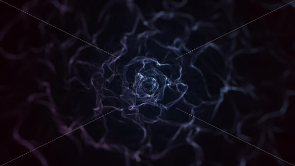Abstract Fractal Fairy Smoke Patterns Waving Background Loop - Vectorsforall