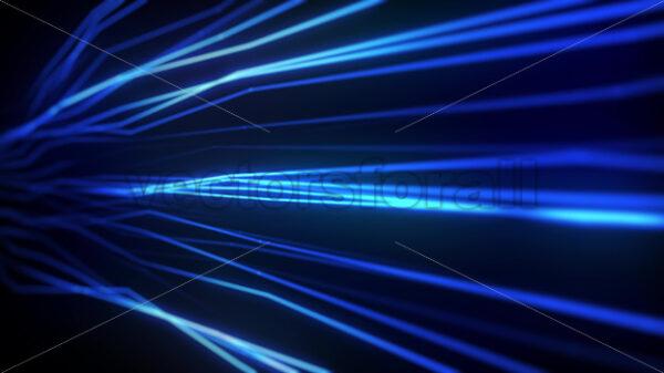 Abstract Plexus Lines Strings Flowing Seamless Loop - Vectorsforall