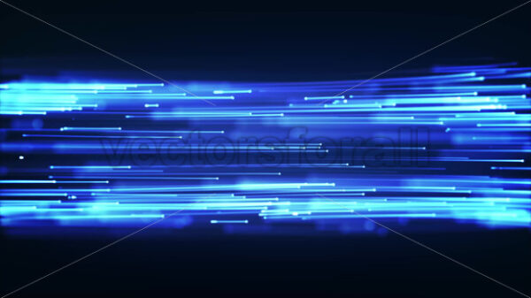 Abstract Speed Particles Lines Flowing Background Loop - Vectorsforall