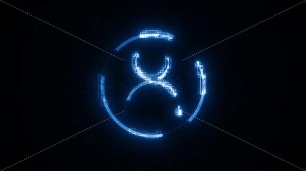 Social Network User Id Icon Fx Background - Vectorsforall