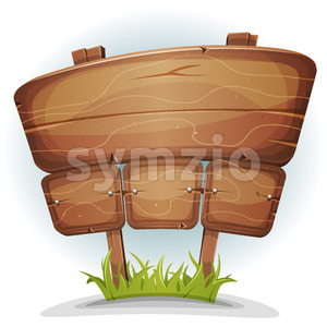 Spring Country Wood Sign Stock Vector