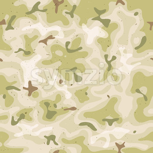 Seamless Military Camouflage Set Stock Vector