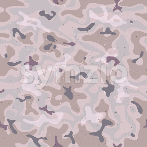 Seamless Military Camo Stock Vector