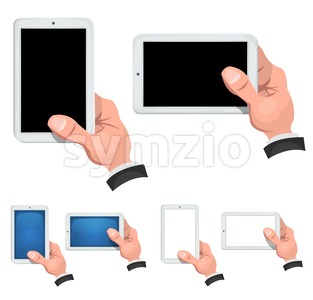 Taking A Selfie Photo With Smart Phone Stock Vector
