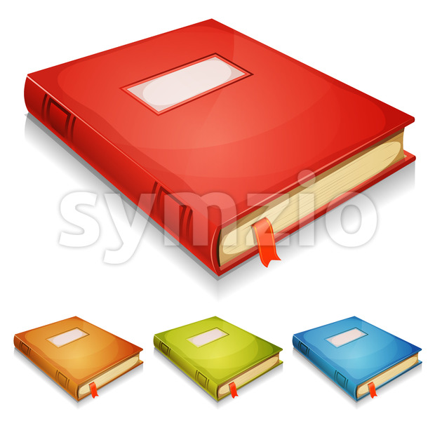 Book Album Set Stock Vector