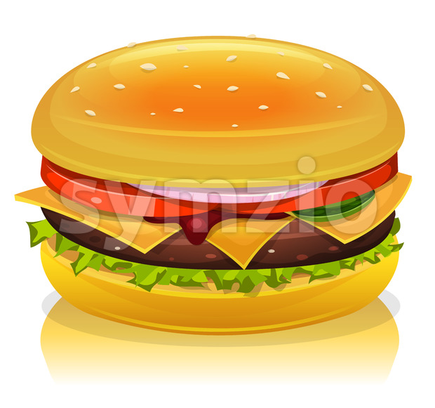 Hamburger Icon Stock Vector
