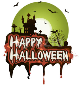 Halloween Holidays Banner Stock Vector