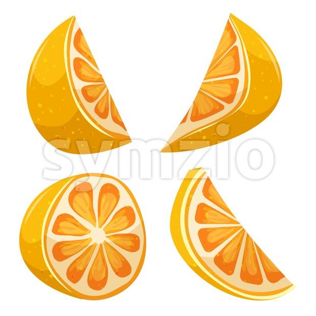 Cartoon Lemon Stock Vector