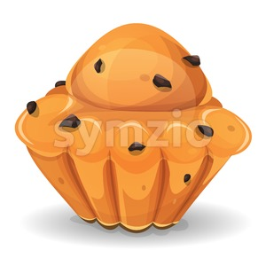 French Brioche With Chocolate Nuggets Stock Photo