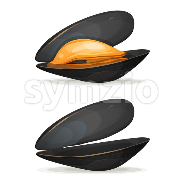 Mussels Stock Vector
