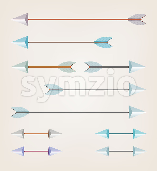 Arrows For Bow Stock Vector