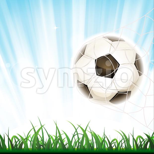 Soccer Goal Stock Vector
