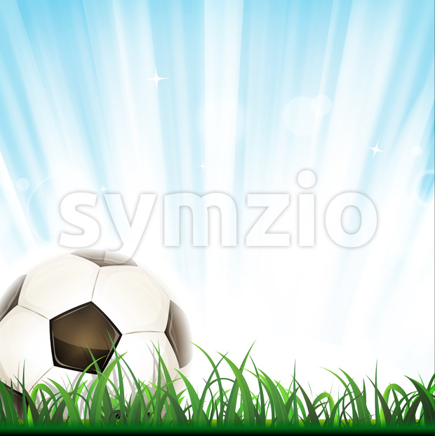 Football Background Stock Vector