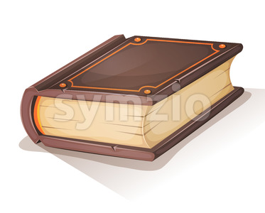 Cartoon Old Book Stock Vector