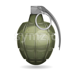 Military Grenade Stock Vector