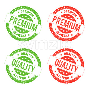 Quality Premium Seal Stamp Stock Vector