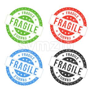 Fragile Seals Stock Vector